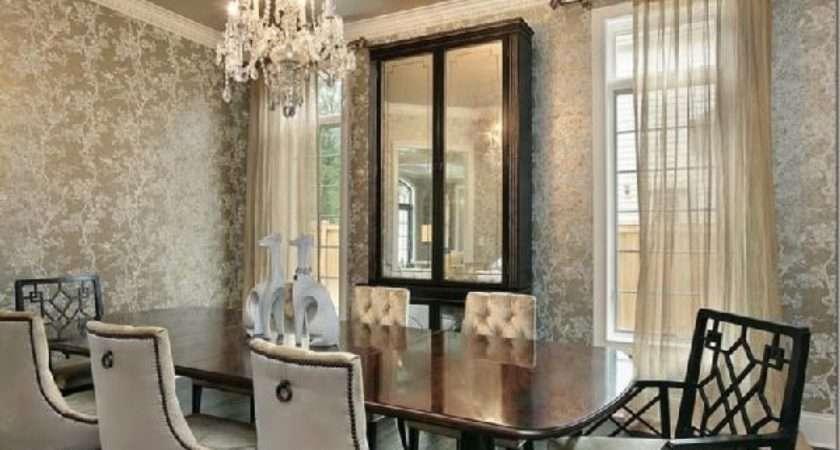 Decor Decorating Dining Room Houses Interior