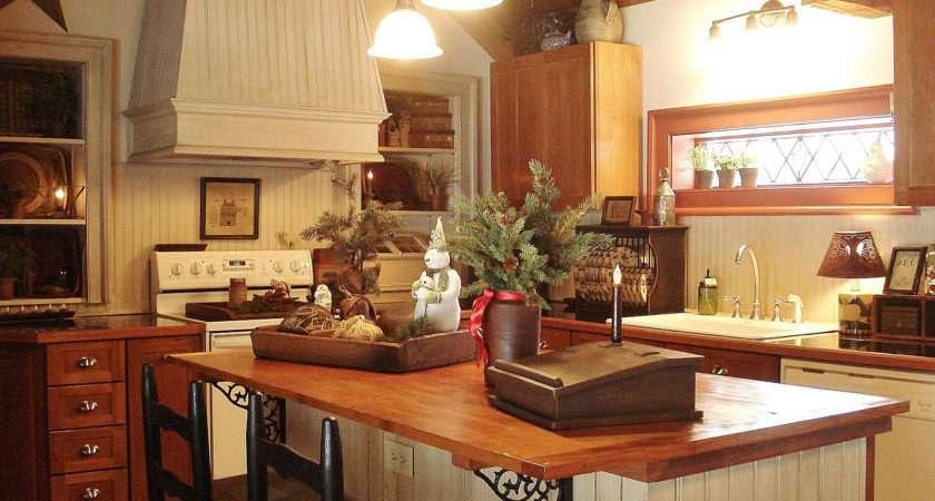 Decor Primitive Home Ideas Country