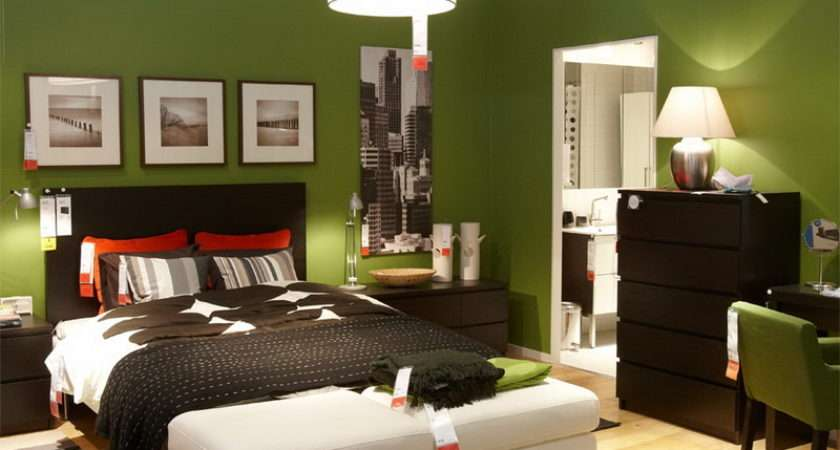 Decor Room Green Color Interior Designing Ideas