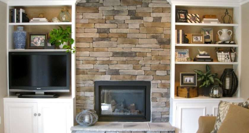 Decor Scoop Transforming Fireplace Built Bookcases