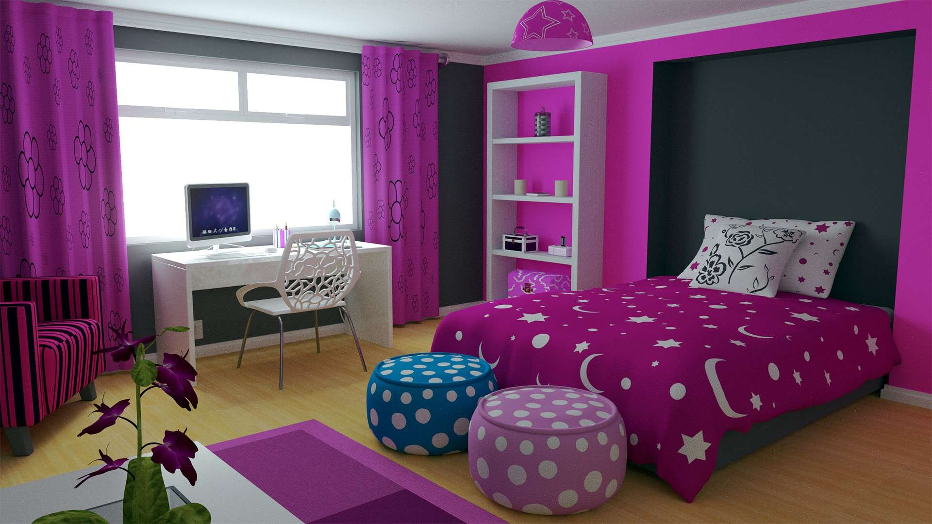 Decorate Bedroom Apartment