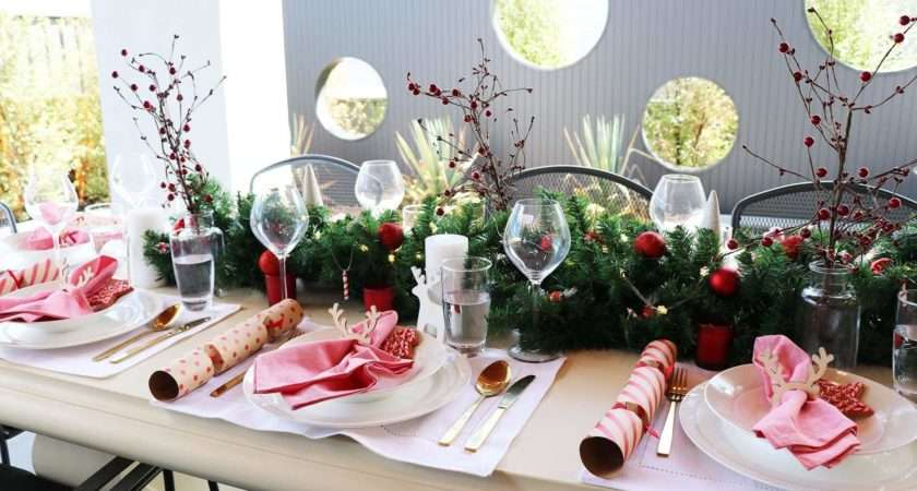 Decorate Christmas Table Budget Indiepedia