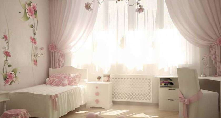 Decorate Girly Bedroom Flower Wall Decoration