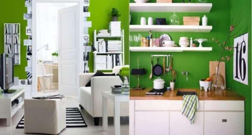 Decorate Green White Black