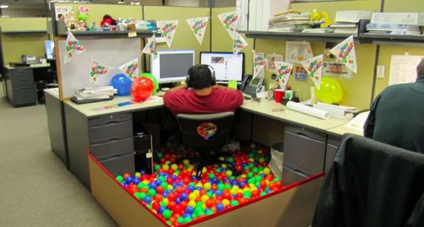 Decorate Office Cubicle Birthday Imgur
