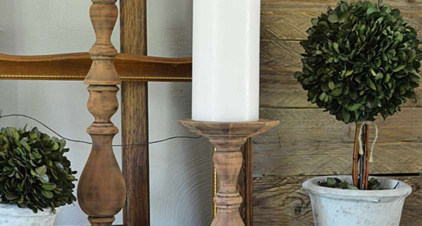 Decorate Your Farmhouse Style Mantel Summer