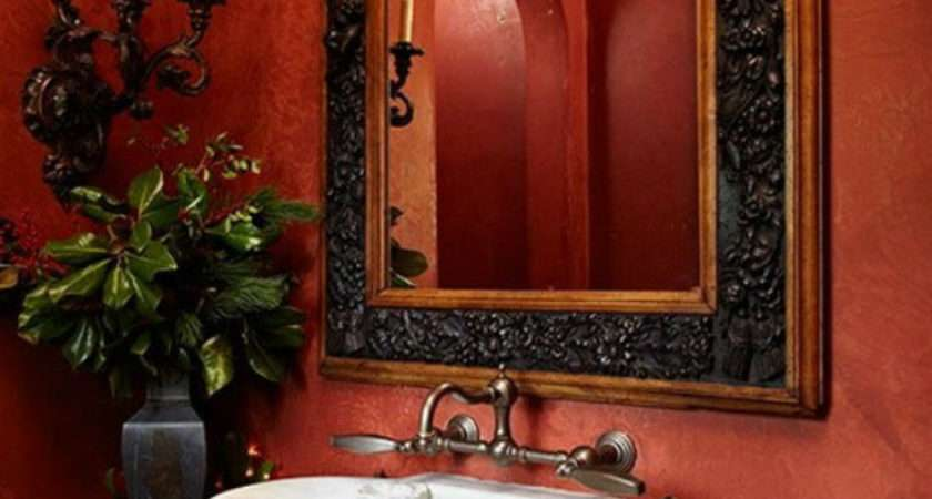 Decorate Your Luxurious Bathroom Christmas