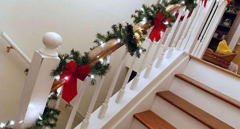 Decorating Banister Holidays