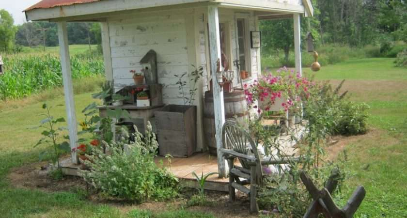 Decorating Great Old Boxes Garden Pinterest Sheds Rustic Shed