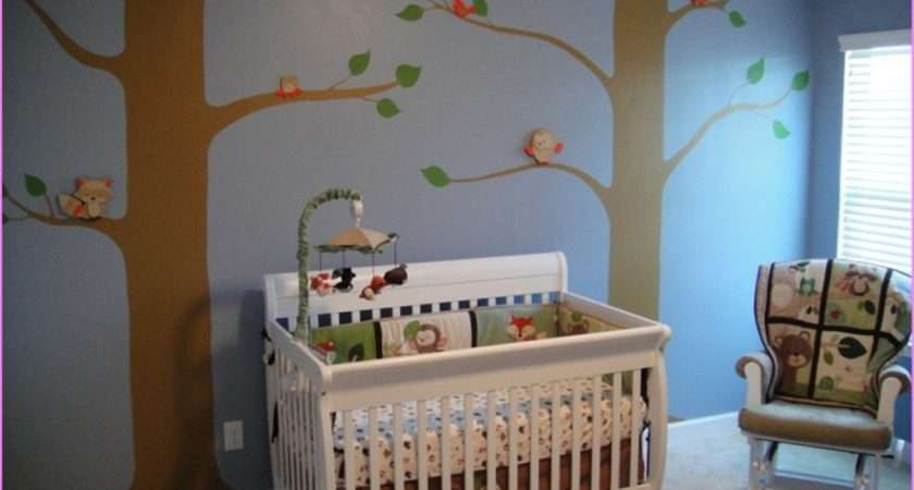 Decorating Ideas Baby Boy Nursery Wall Decor