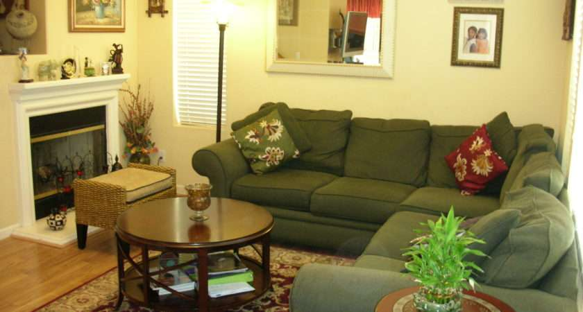 Decorating Ideas Green Living Room