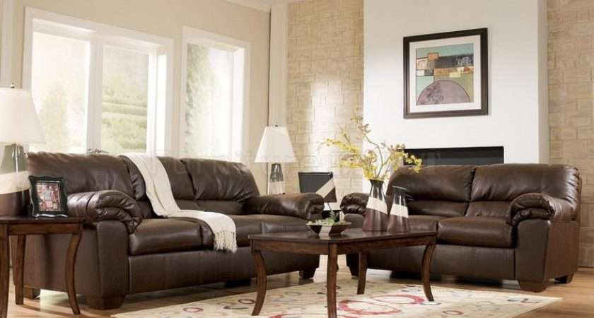 Decorating Ideas Living Rooms Leather Furniture