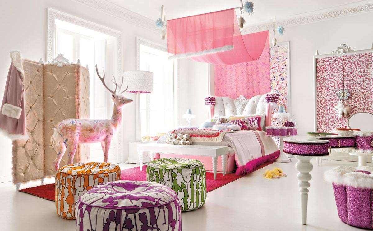 Decorating Ideas Teenage Girl Bedroom Room