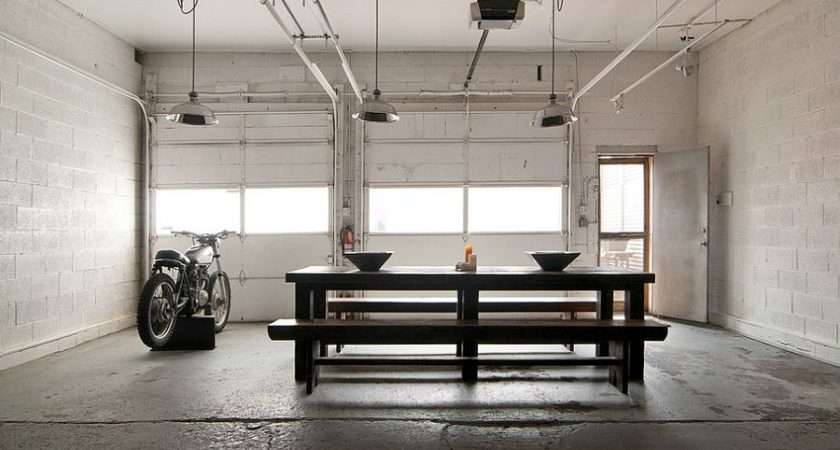 Decorating Trends Industrial Dining Room
