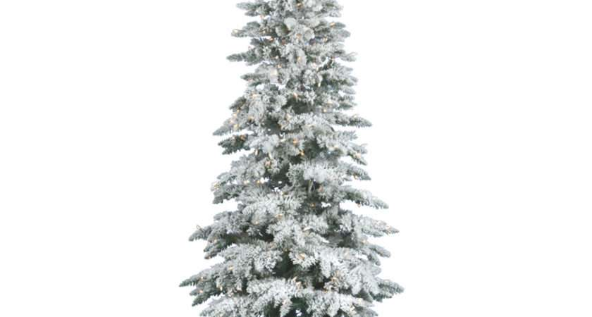 Decoration Ideas Awesome Slim White Christmas Tree