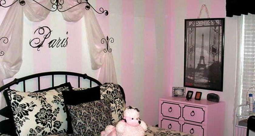 Decoration Paris Themed Room Cor Bedroom Ideas