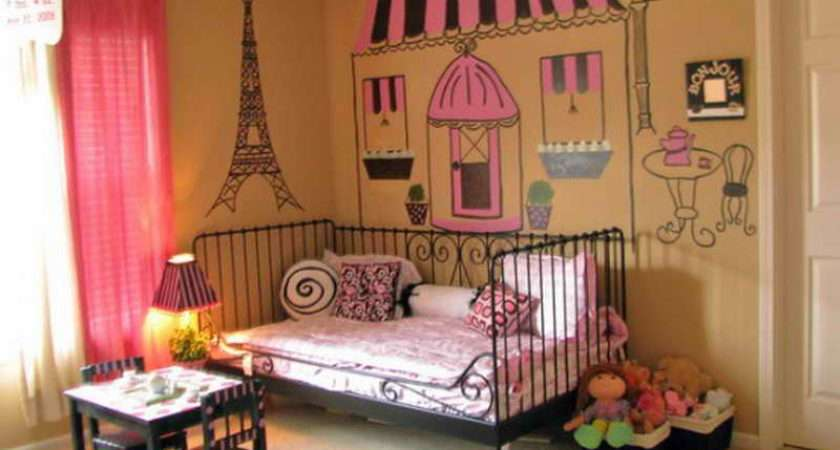 Decoration Paris Themed Room Cor Cool