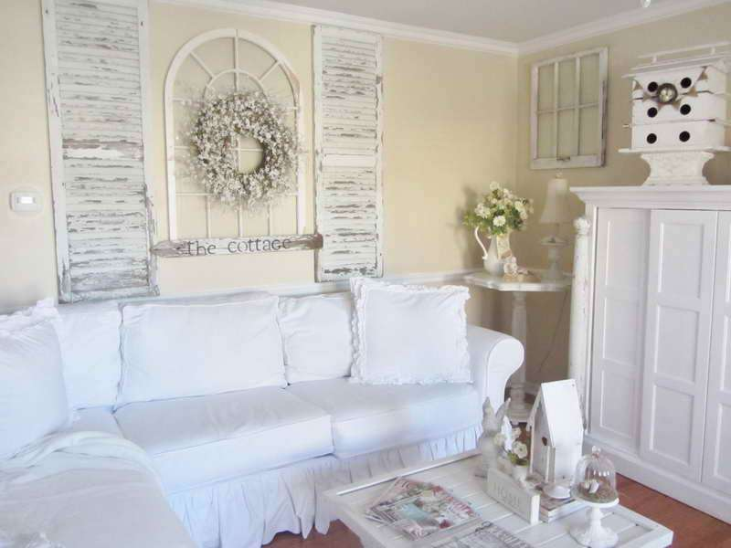 Decoration Shabby Chic Cottage Decor Ideas
