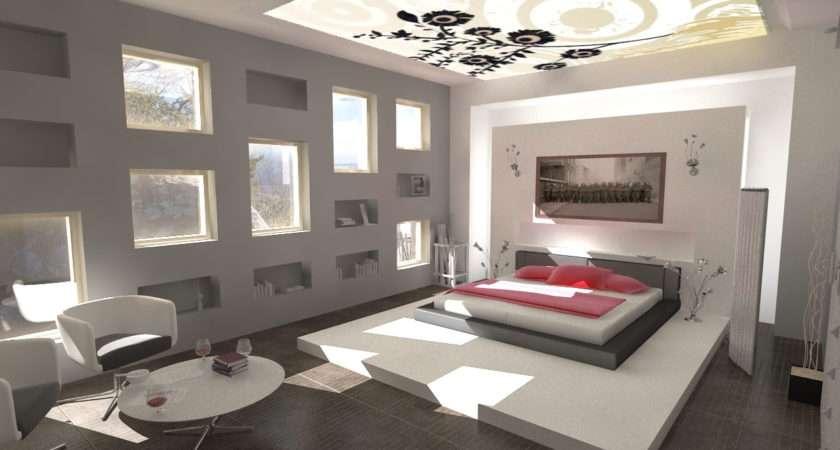 Decorations Minimalist Design Modern Bedroom Interior Ideas