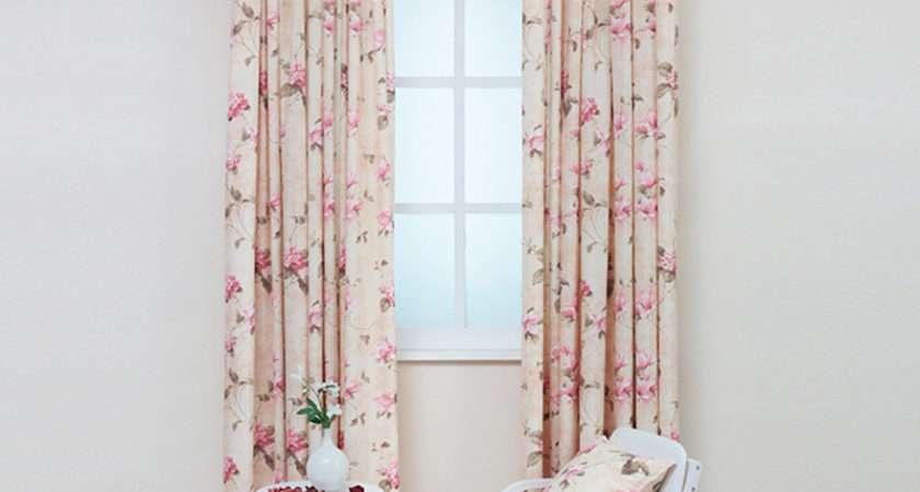 Decorative Floral Curtain Fabric Door Window Room