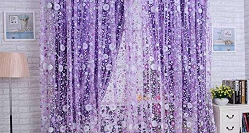Decorative Sheer Curtains Amazon