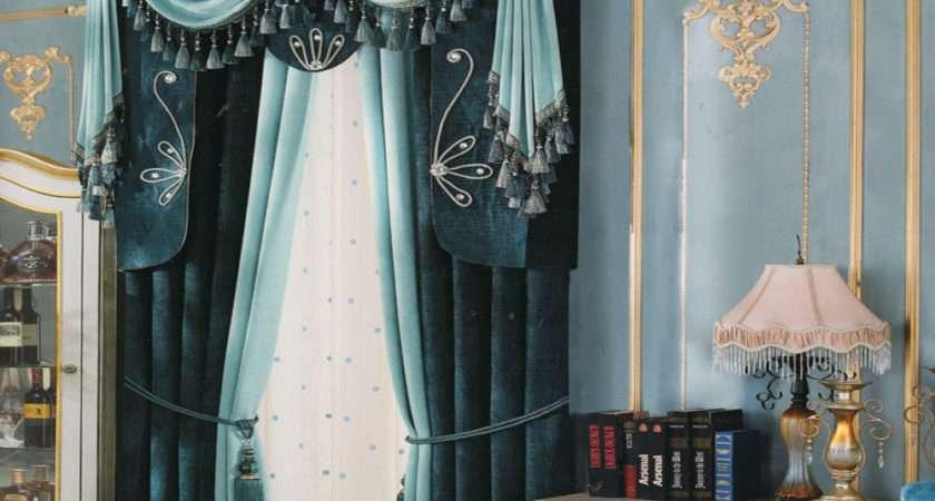 Decorative Tassel Vintage Window Curtains Valance