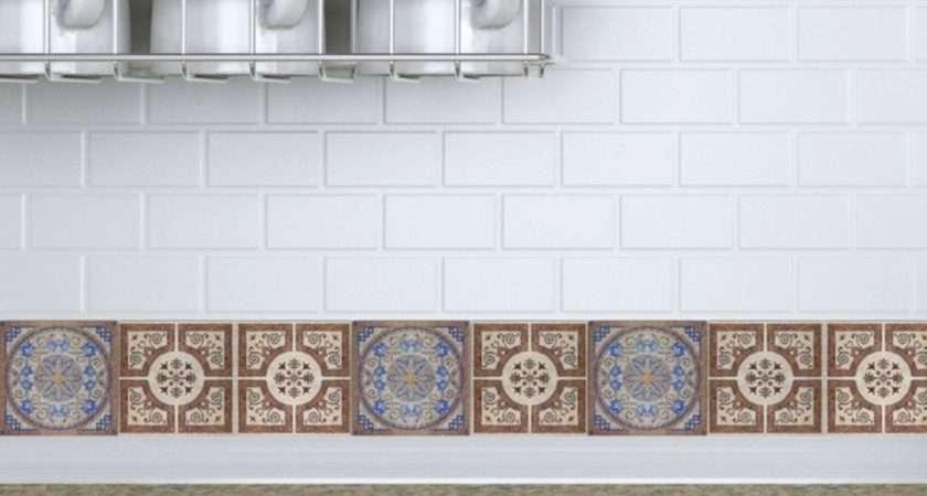 Decorative Wall Tile Decals Kitchen Ideas