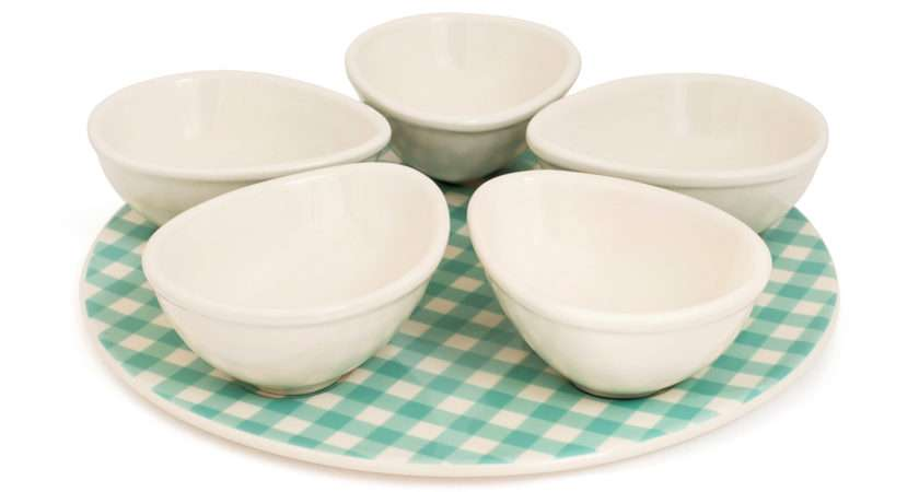 Delighted Introduce Gingham Collection Ceramic