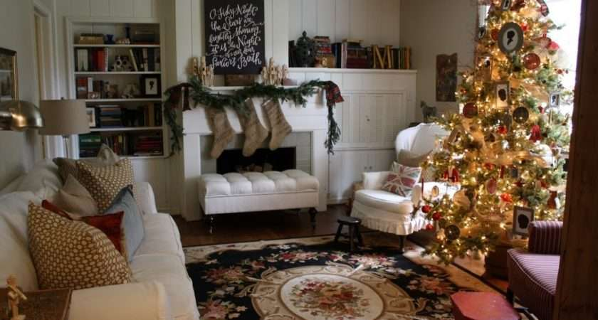 Delightful Christmas House Tour Holly Mathis