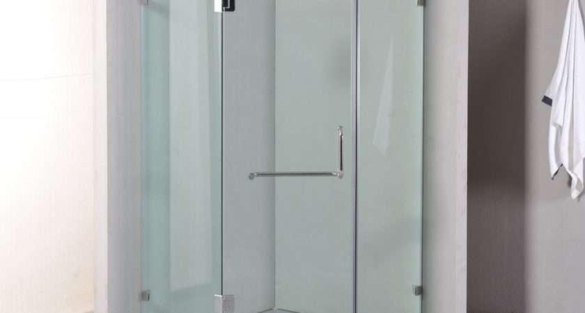 Della Francesca Frameless Shower Screen