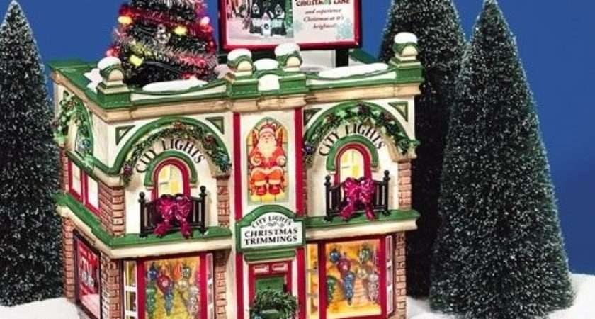 Department City Lights Christmas Trimmings Ebay
