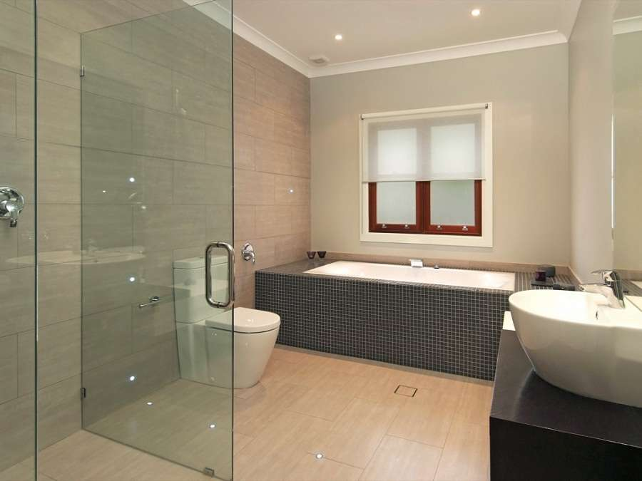 Design Bathroom Sliding Doors Minimalist