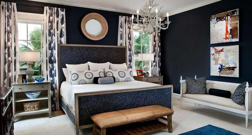 Design Lgb Interiors Posh Bachelor Pad Embraces Navy Blue