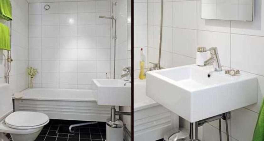 Design Small Apartment Bathroom Interior