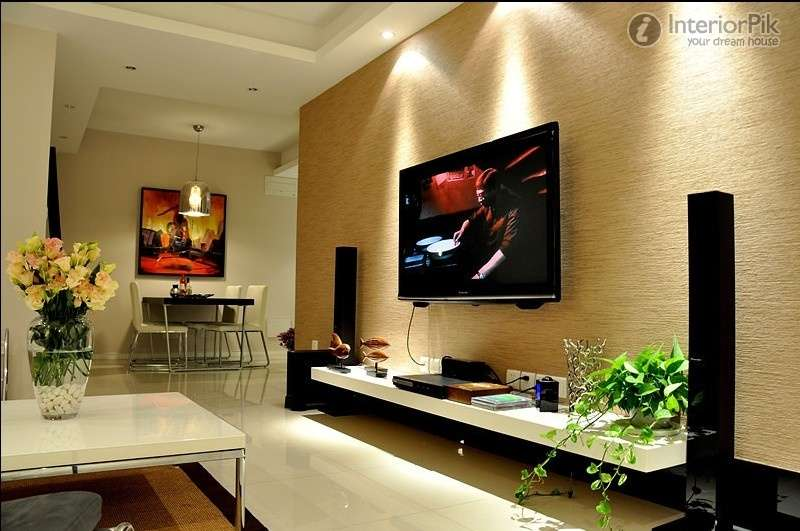 Design Small Apartment Living Room Wall