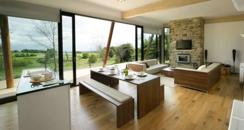 Design Small Living Room Kitchen Dining