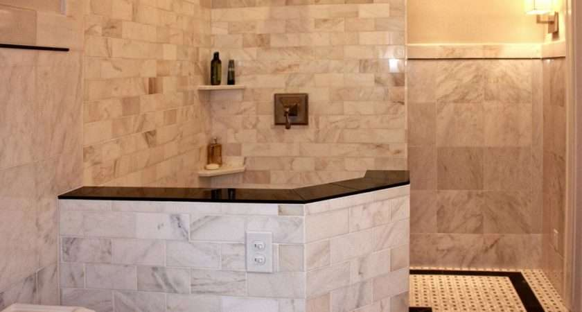 Design Tile Shower Kitchen Bathroom Ideas