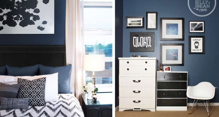 Design Trends Seeing Blue Navy Walls
