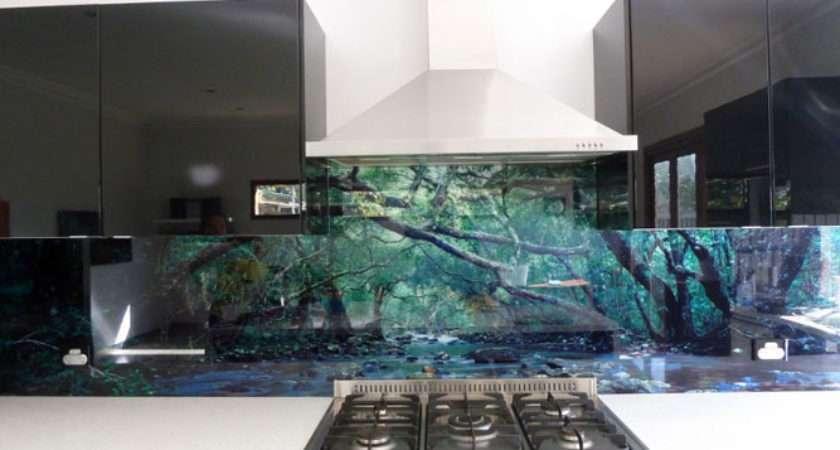 Designer Glass Splashbacks Kitchens Peenmedia