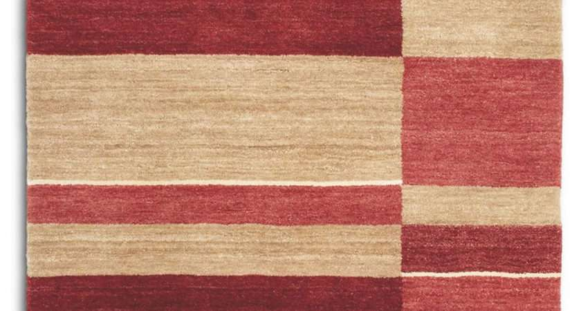 Designer Rugs Pacific Pac Red Modern Rug