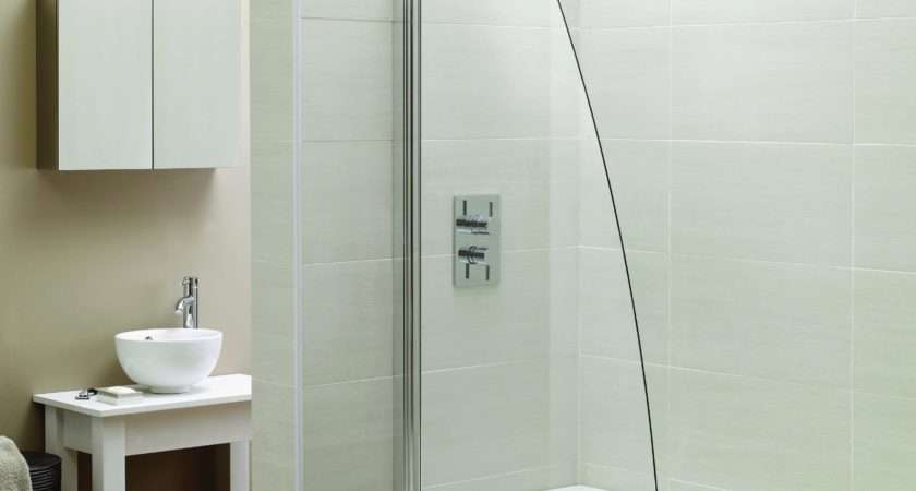 Designer Sail Glass Bath Shower Screen