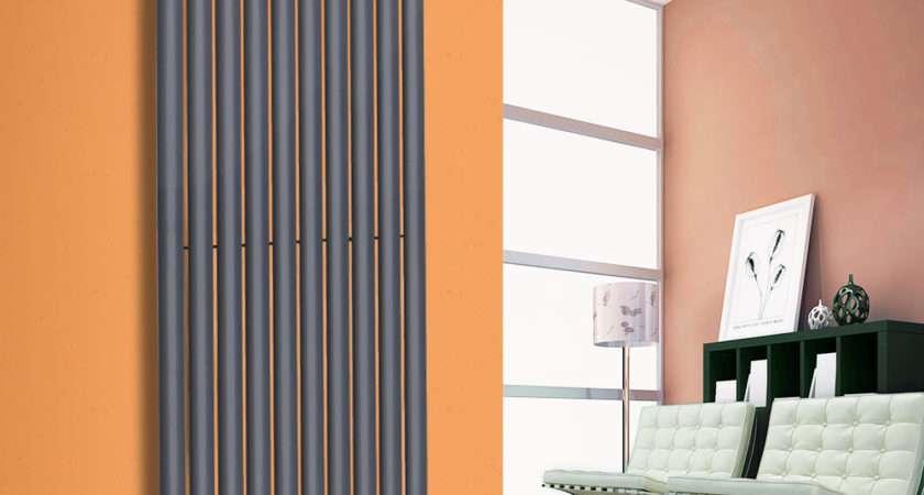 Designer Vertical Modern Upright Oval Single Column