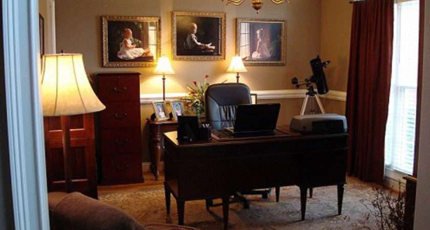 Designs Home Office Classic Remodeling Design Ideas