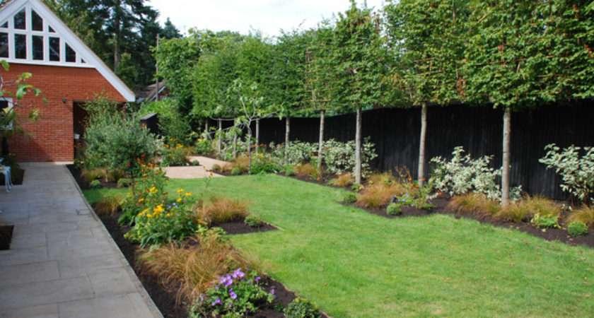 Designs Long Thin Gardens Lisa Cox Garden Blog