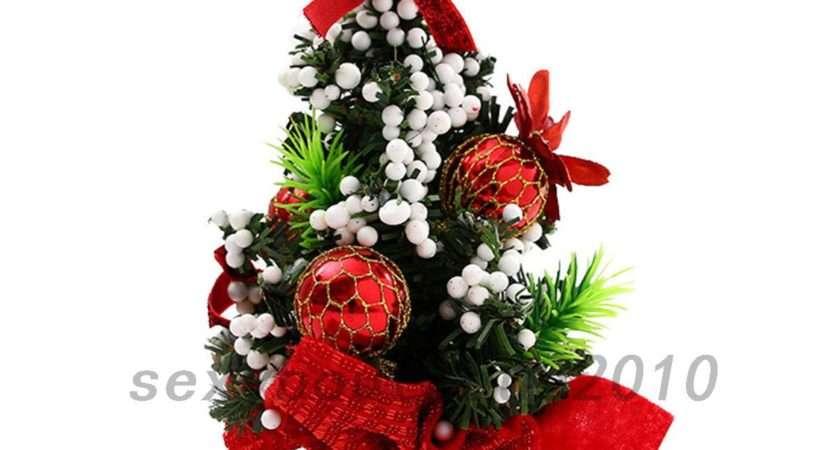 Desk Table Mini Christmas Xmas Tree Small Party