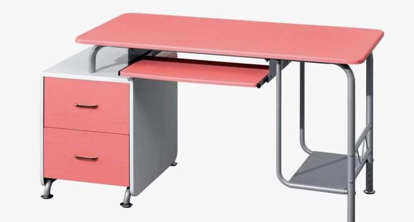 Desks Kids Computer Girls Writing Teenage