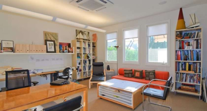 Detached Home Office Interior