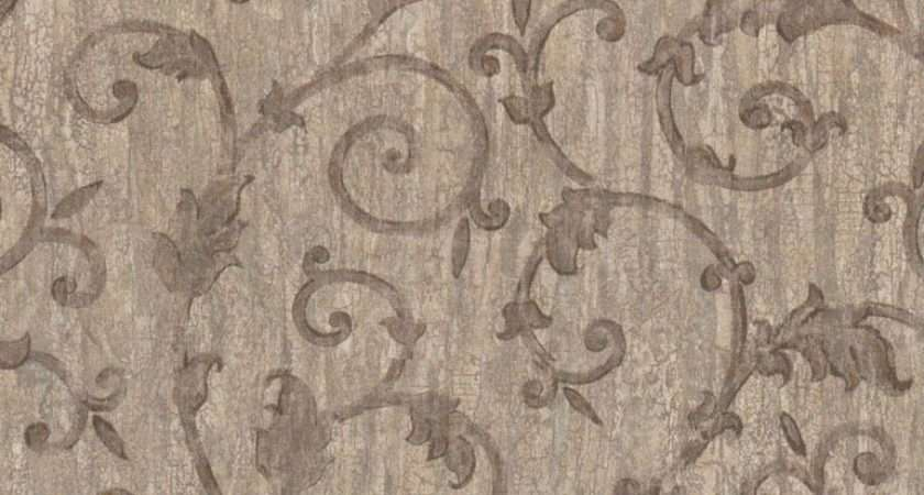 Details Architectural Scroll Leaves Rustic