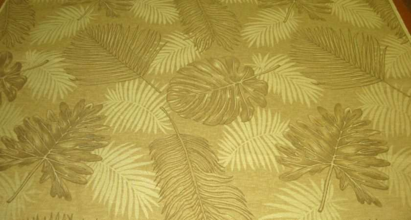 Details Neutral Leaf Pattern Upholstery Fabric