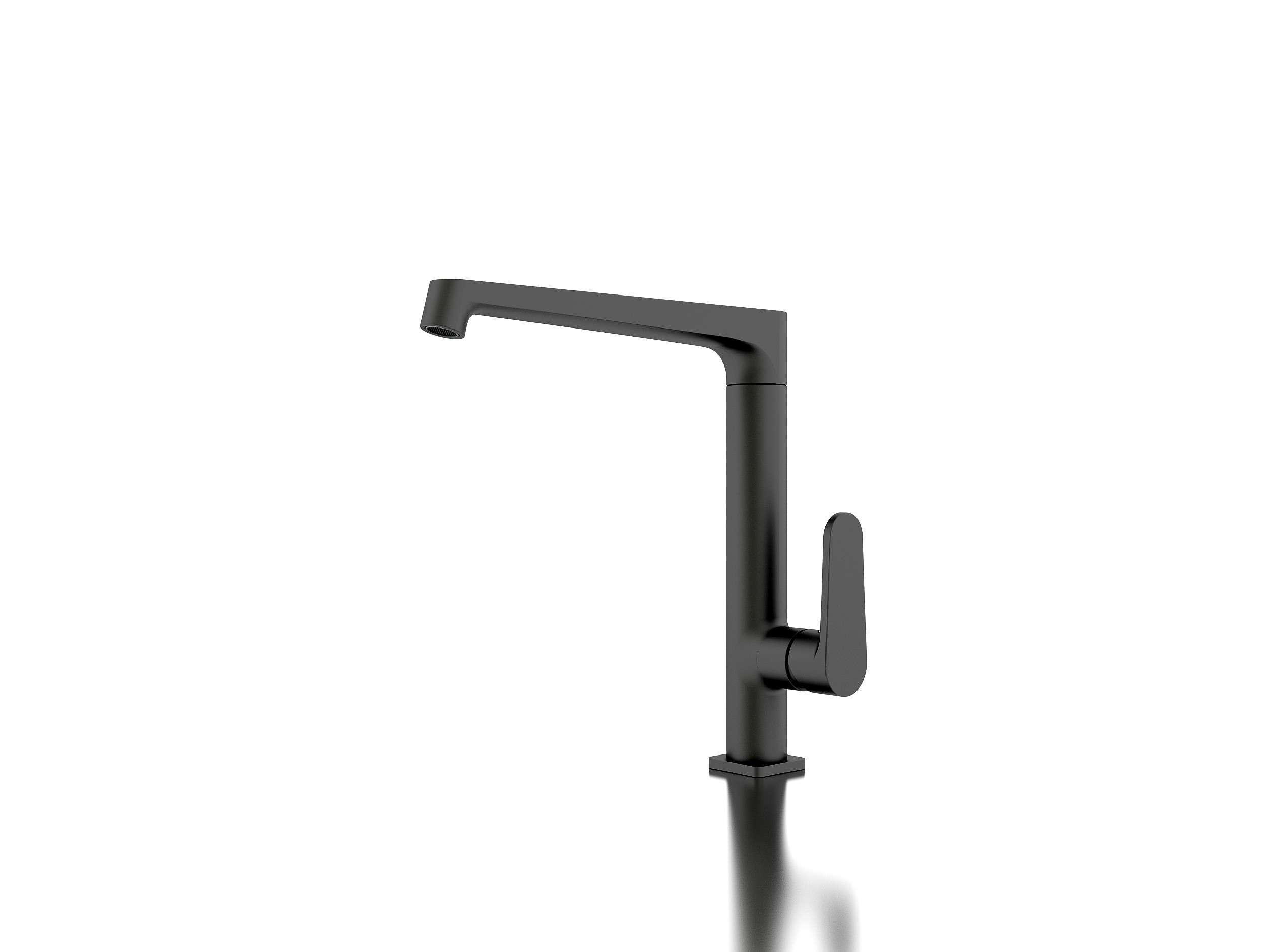 Details Victor Matt Black Designer Kitchen Mixer Tap Taps Faucet